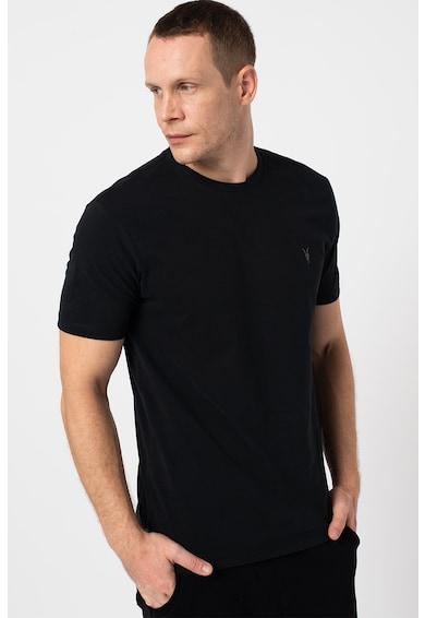 ALL SAINTS Set de tricouri cu decolteu la baza gatului - 3 piese Barbati
