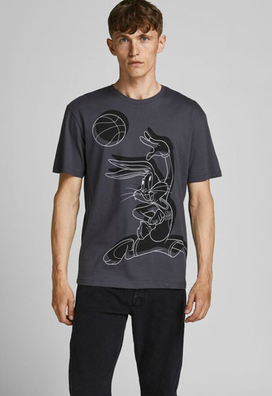 Jack&Jones Tricou de bumbac cu imprimeu Barbati