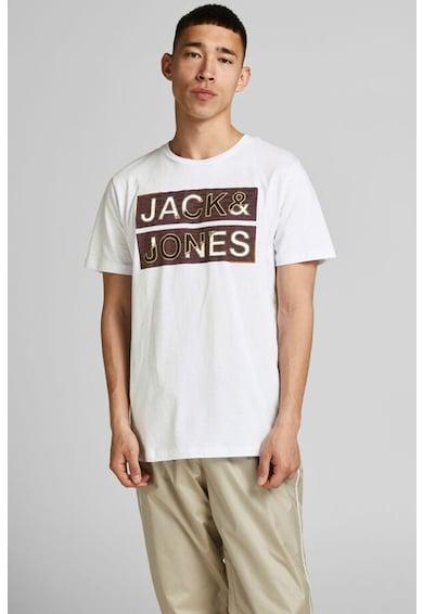 Jack&Jones Tricou regular fit cu imprimeu logo Space Barbati
