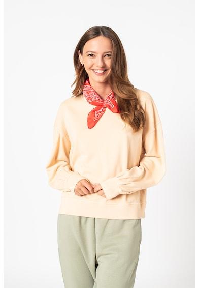 Vero Moda Bluza sport de bumbac organic cu maneci cazute Caia Femei