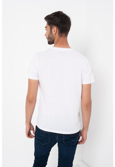 Jack&Jones Set de tricouri de bumbac cu imprimeu logo supradimensionat - 3 piese Barbati