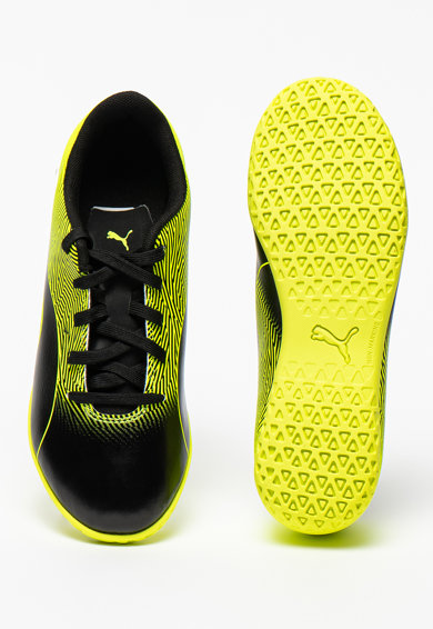 Puma Pantofi din piele ecologica pentru fotbal Spirit II Baieti