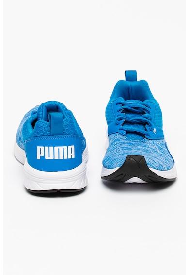 Puma Pantofi sport de material textil cu piele ecologica NRGY Comet Baieti