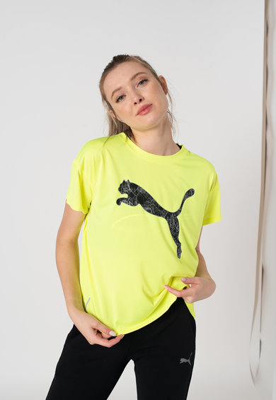 Puma Tricou cu imprimeu logo, pentru alergare Lat Lap Femei