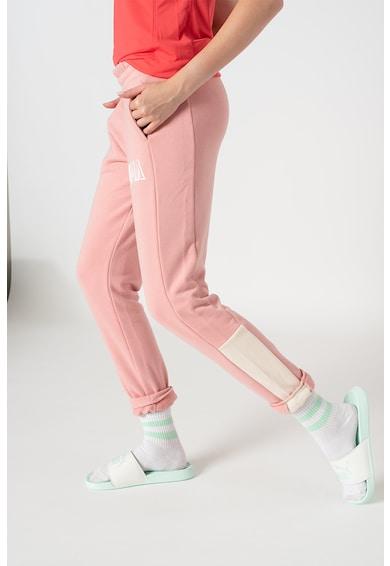 Puma Pantaloni sport cu logo Athletic Femei