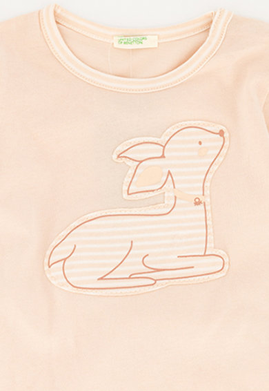 United Colors of Benetton Pijama lunga de bumbac cu imprimeu grafic Baieti
