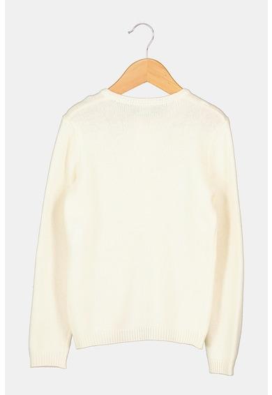 United Colors of Benetton Cardigan din amestec de lana cu nasturi Fete