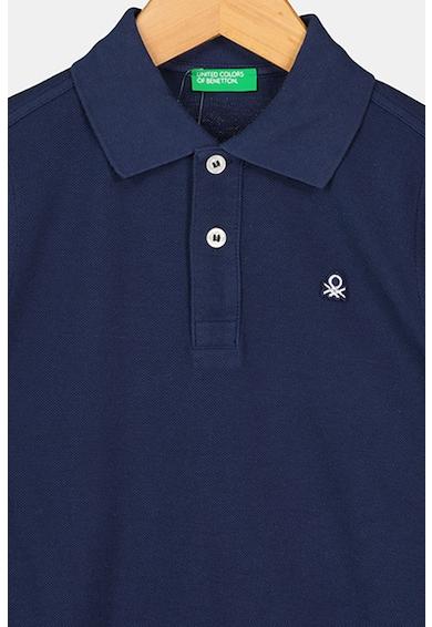 United Colors of Benetton Bluza polo cu broderie logo Baieti