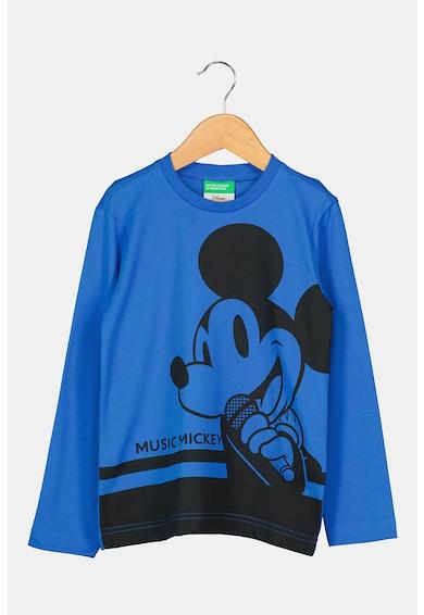 United Colors of Benetton Bluza de jerseu cu imprimeu Mickey Mouse Baieti