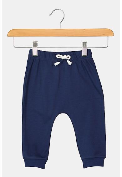 United Colors of Benetton Set de bluza de bumbac organic si pantaloni Baieti