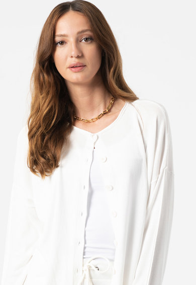 United Colors of Benetton Cardigan relaxed fit din amestec de bumbac si modal Femei