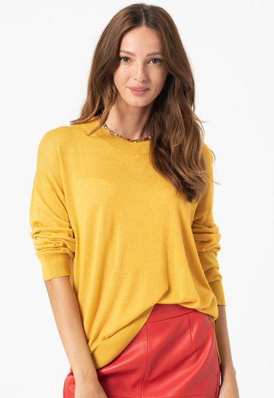 United Colors of Benetton Pulover relaxed fit din amestec de lana Femei