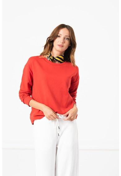 United Colors of Benetton Bluza sport cu decolteu la baza gatului Femei