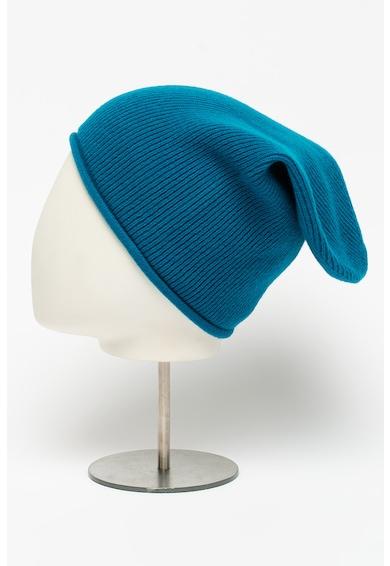 United Colors of Benetton Caciula tricotata din amestec de lana cu striatii Barbati