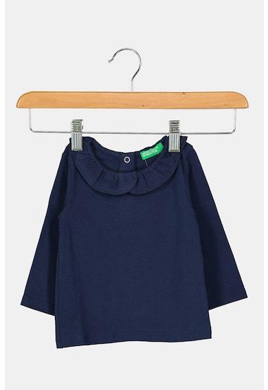 United Colors of Benetton Bluza cu guler cu volan Fete