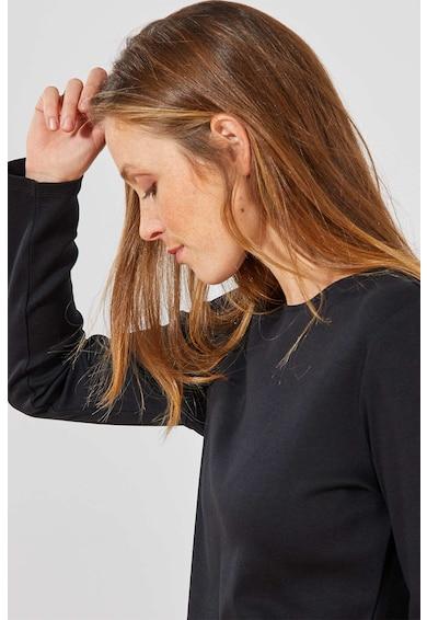 KIABI Bluza din bumbac cu decolteu la baza gatului Femei