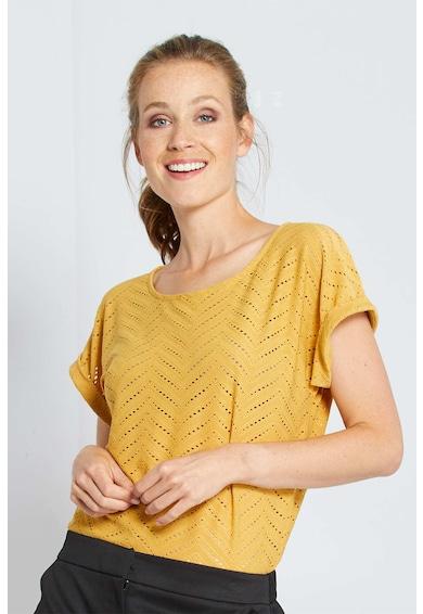 KIABI Tricou cu aspect perforat Femei