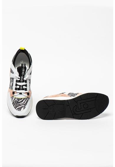 Liu Jo Pantofi sport cu insertii de piele si piele intoarsa Karlie Femei