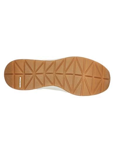 Skechers Pantofi sport wedge de piele ecologica Billion-Subtle Spots Femei