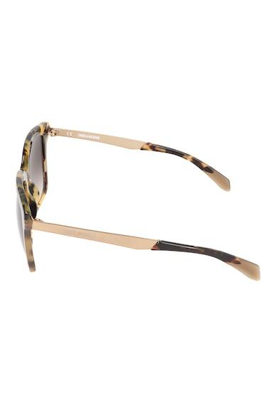 Zadig & voltaire Ochelari de soare cu lentile polarizate in degrade Femei