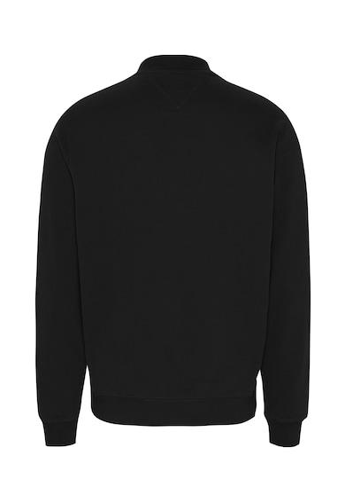 Tommy Jeans Bluza sport de bumbac organic cu logo brodat Barbati