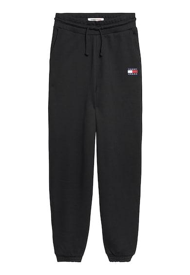 Tommy Jeans Pantaloni sport relaxed fit de bumbac organic Femei