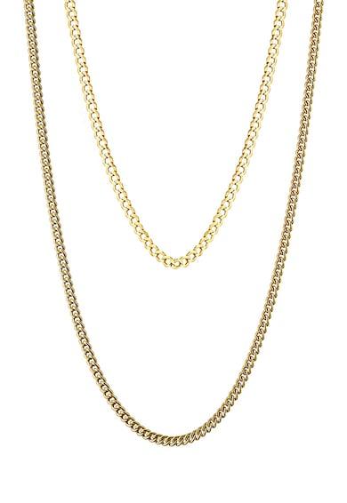 Loisir by Oxette Colier cu siraguri multiple si placat cu aur de 14K Femei