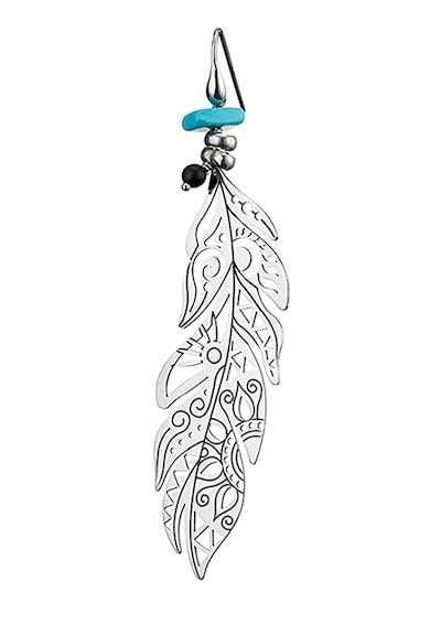 OXETTE Cercei drop din argint veritabil placati cu rodiu Femei