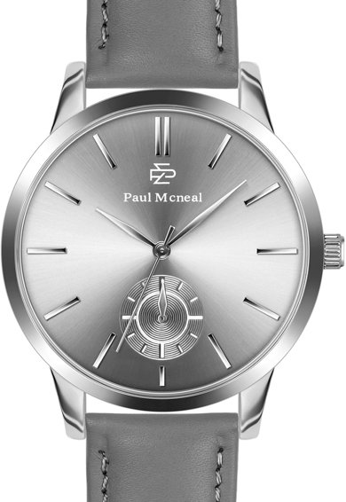 Paul McNeal Set de ceas si colier lant Barbati
