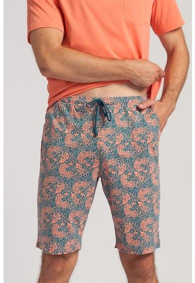 Sofiaman Pijama scurta cu imprimeu George Barbati