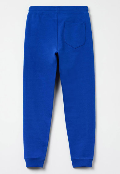 OVS Pantaloni sport cu snur in talie si buzunare laterale Baieti