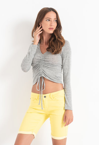 Haily's Bluza cu snur frontal Lorie Femei