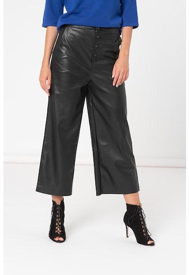 Haily's Pantaloni ampli de piele ecologica Jacky Femei
