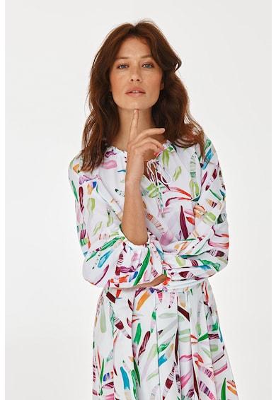 Tatuum Bluza cu imprimeu abstract si maneci raglan Femei