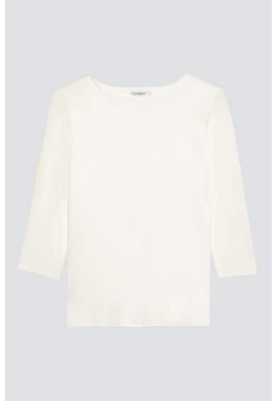 Motivi Bluza din jerseu cu decolteu la baza gatului si maneci 3/4 Femei