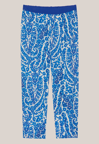 Oltre Pantaloni vaporosi cu imprimeu floral Femei