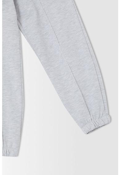 DeFacto Pantaloni sport cu terminatii elastice Fete