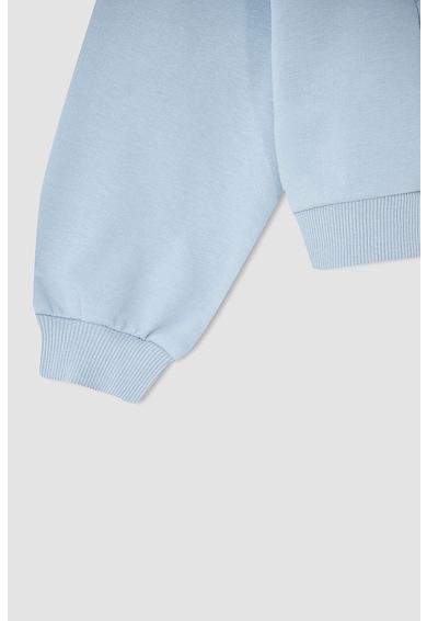 DeFacto Bluza sport cu decolteu la baza gatului si volane Fete