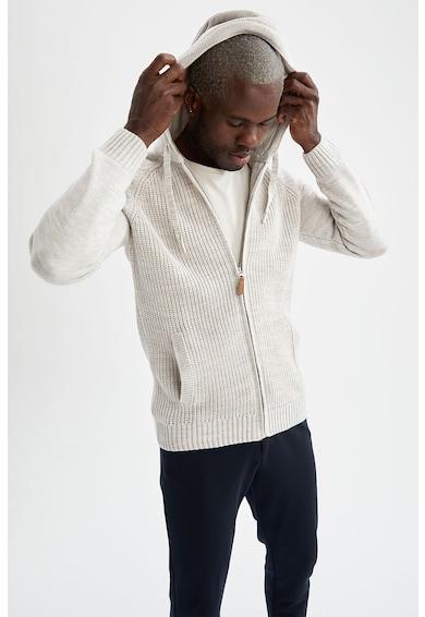 DeFacto Hanorac tricotat cu fermoar Barbati