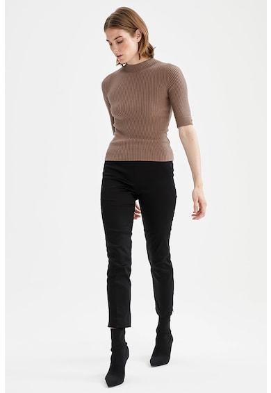 DeFacto Pantaloni crop chino slim fit Valentina Femei