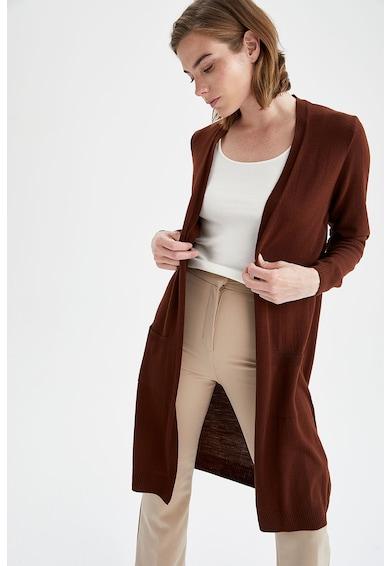 DeFacto Cardigan tricotat fara inchidere Femei