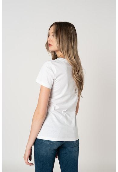 CALVIN KLEIN Tricou de bumbac organic cu logo Femei