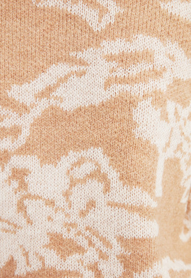 Trendyol Pulover cu imprimeu si guler scurt Femei