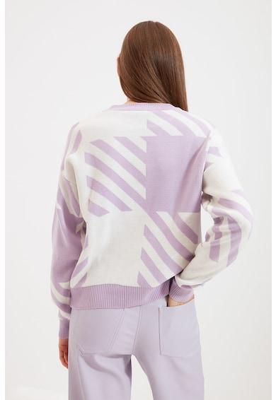 Trendyol Pulover cu model colorblock Femei