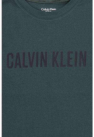 CALVIN KLEIN Pijama din amestec de bumbac cu pantaloni scurti Baieti