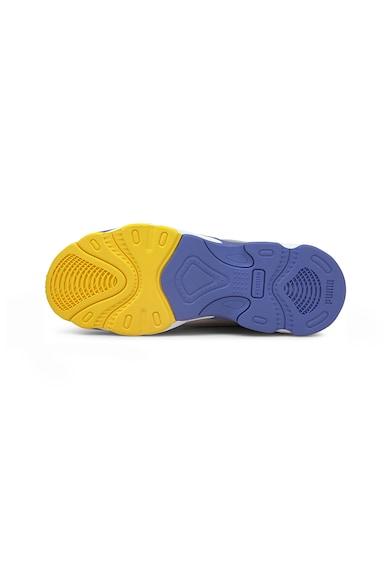 Puma Pantofi sport de piele si textil cu model colorblock RS-Connect Femei