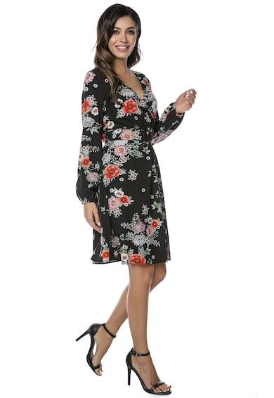 Miss One Rochie cu imprimeu floral si o curea asortata Femei