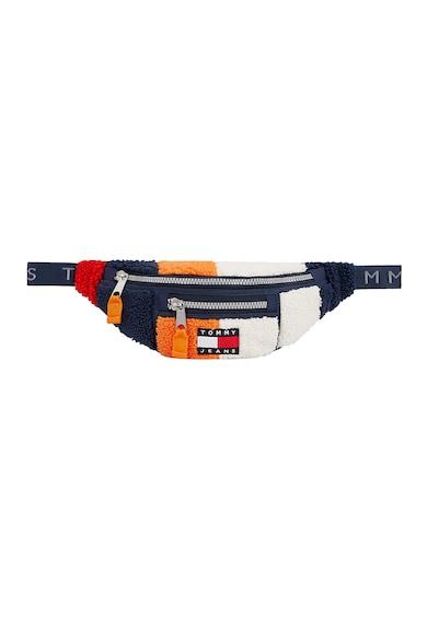 Tommy Jeans Borseta cu aspect texturat si design colorblock Barbati