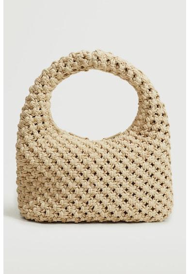 Mango Calella azsúros dizájnú táska női