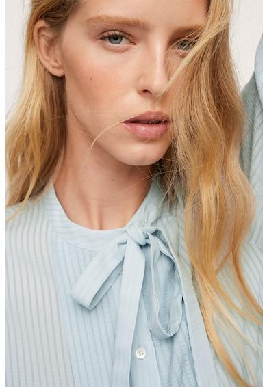 Mango Blanca aszimmetrikus alsó szegélyű ing női